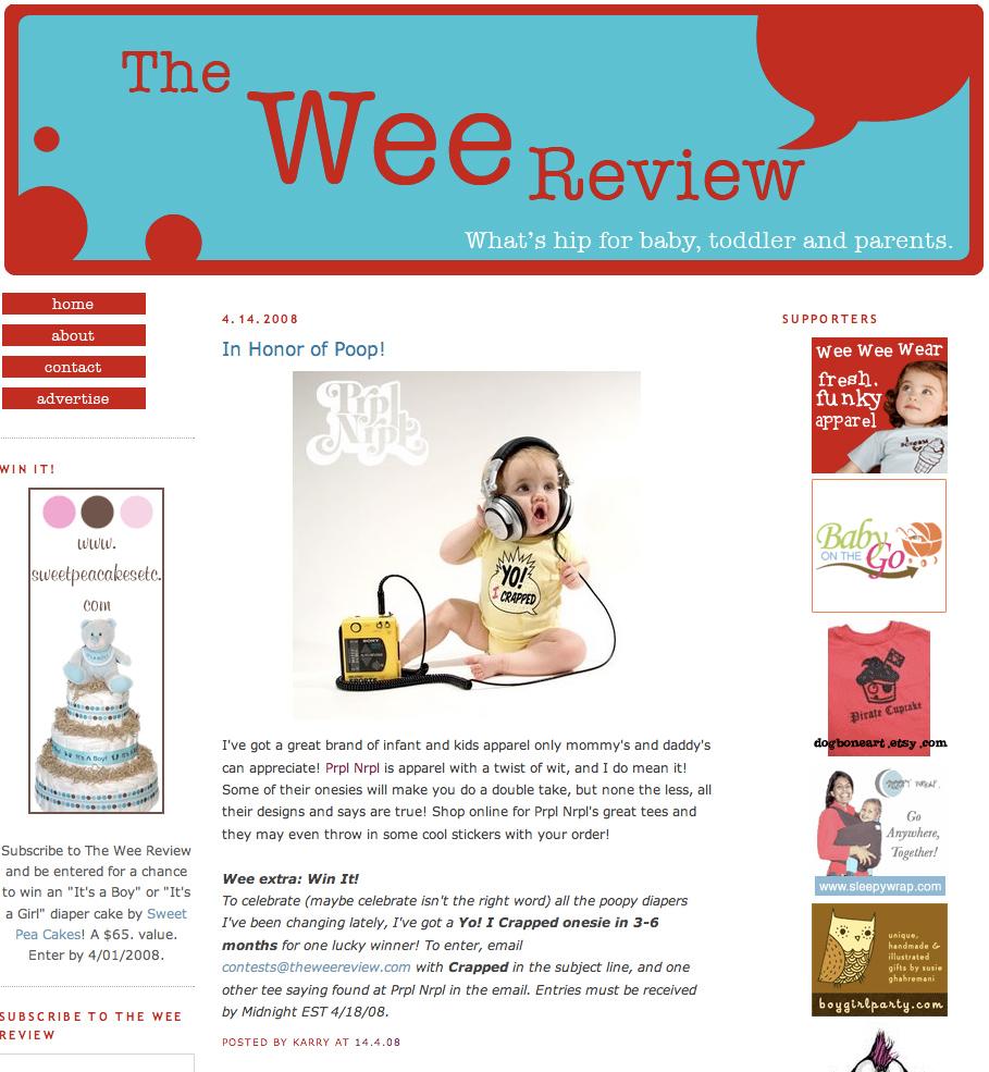 Prpl Nrpl Wee Review